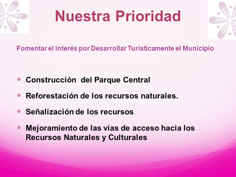 Nuestra Prioridad Construcción del Parque Central