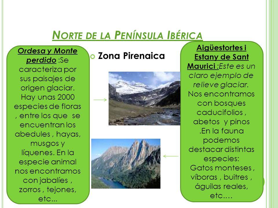 Norte de la Península Ibérica