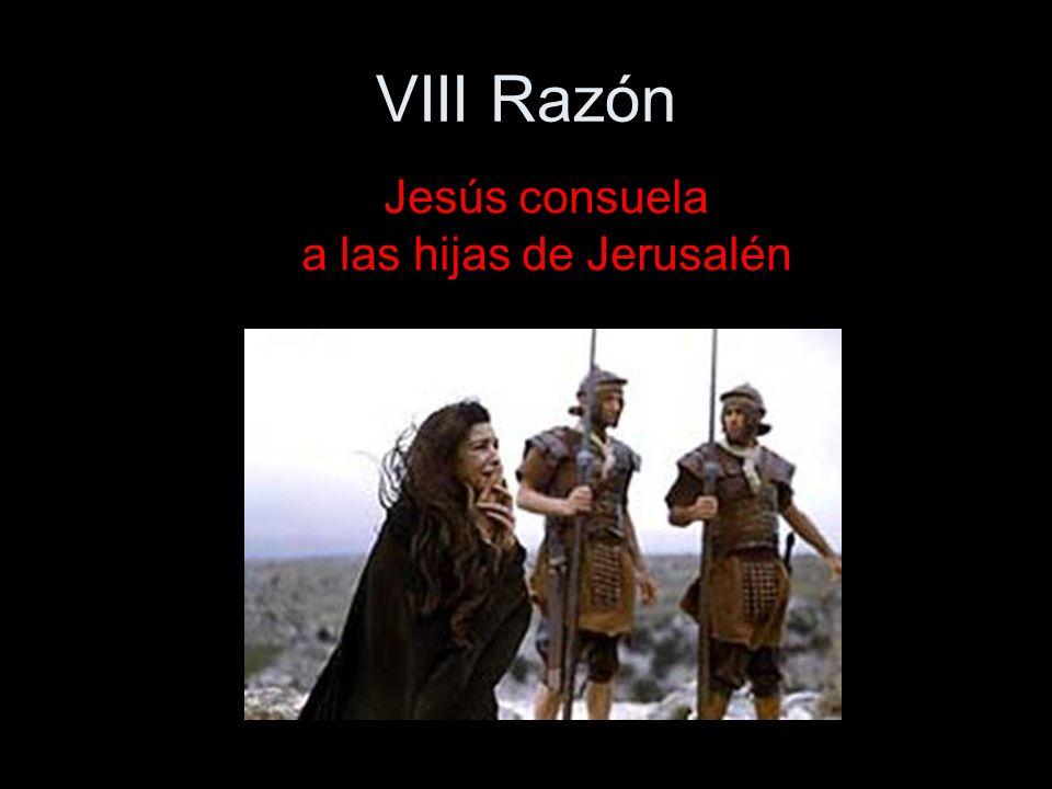 Jesús consuela a las hijas de Jerusalén