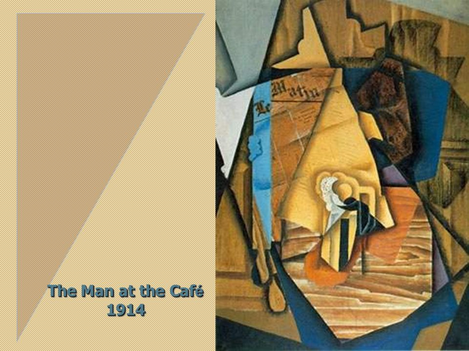 The Man at the Café 1914