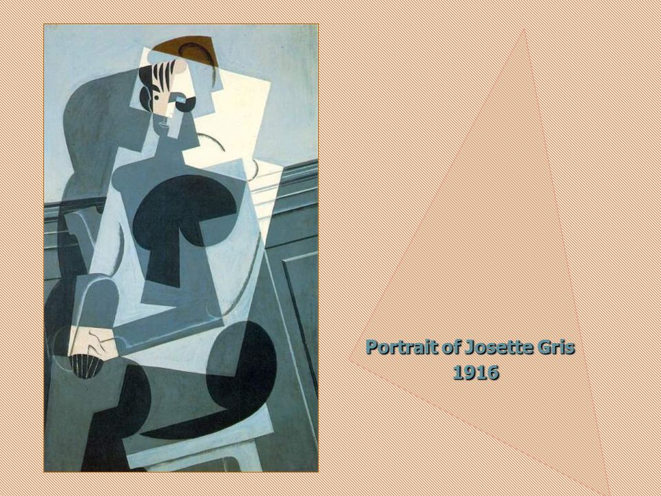 Portrait of Josette Gris