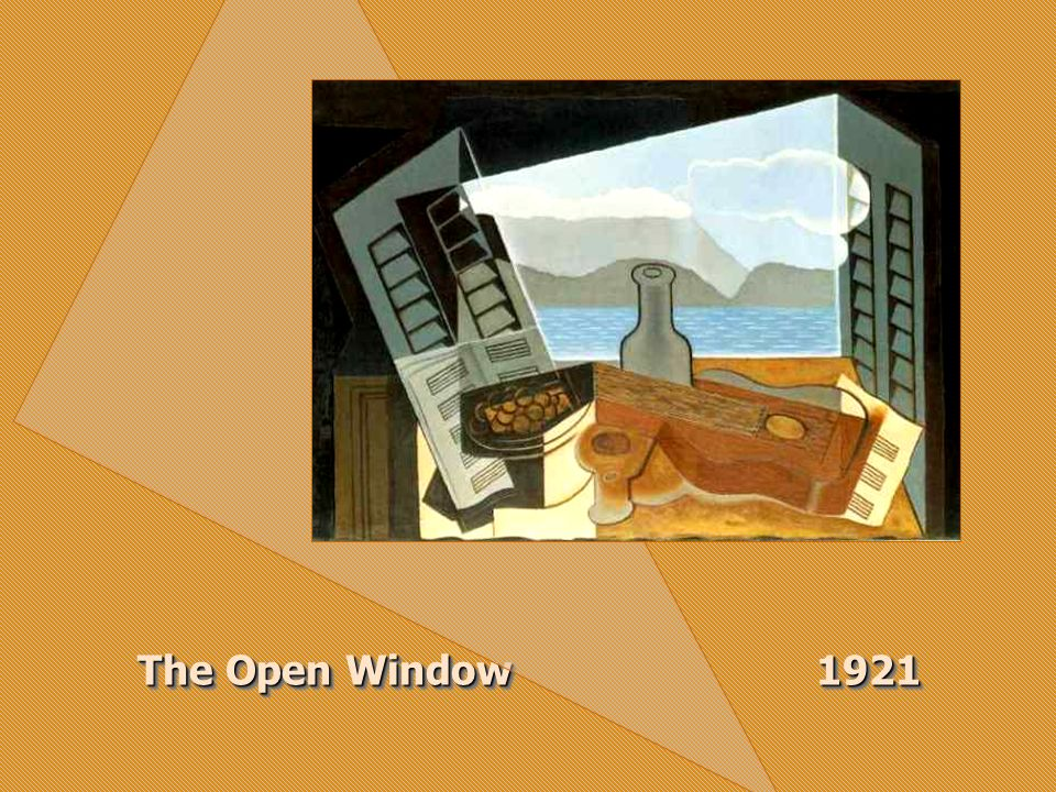 The Open Window 1921