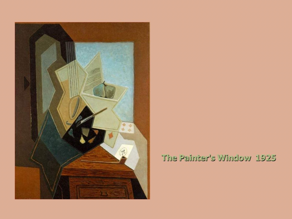 The Painter s Window 1925