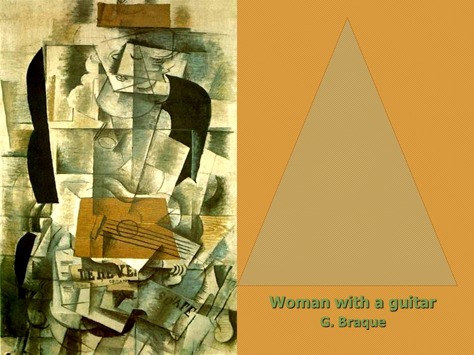 Woman with a guitar G. Braque
