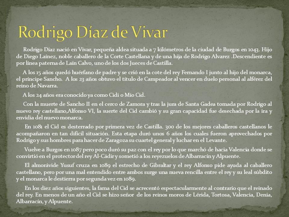 Rodrigo Díaz de Vivar