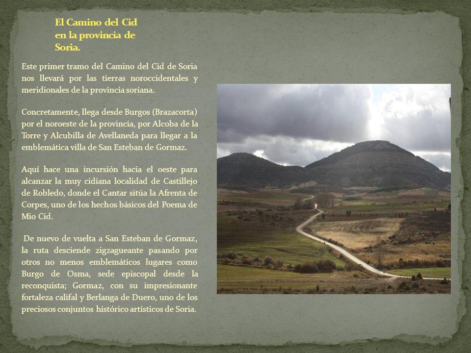 El Camino del Cid en la provincia de Soria.
