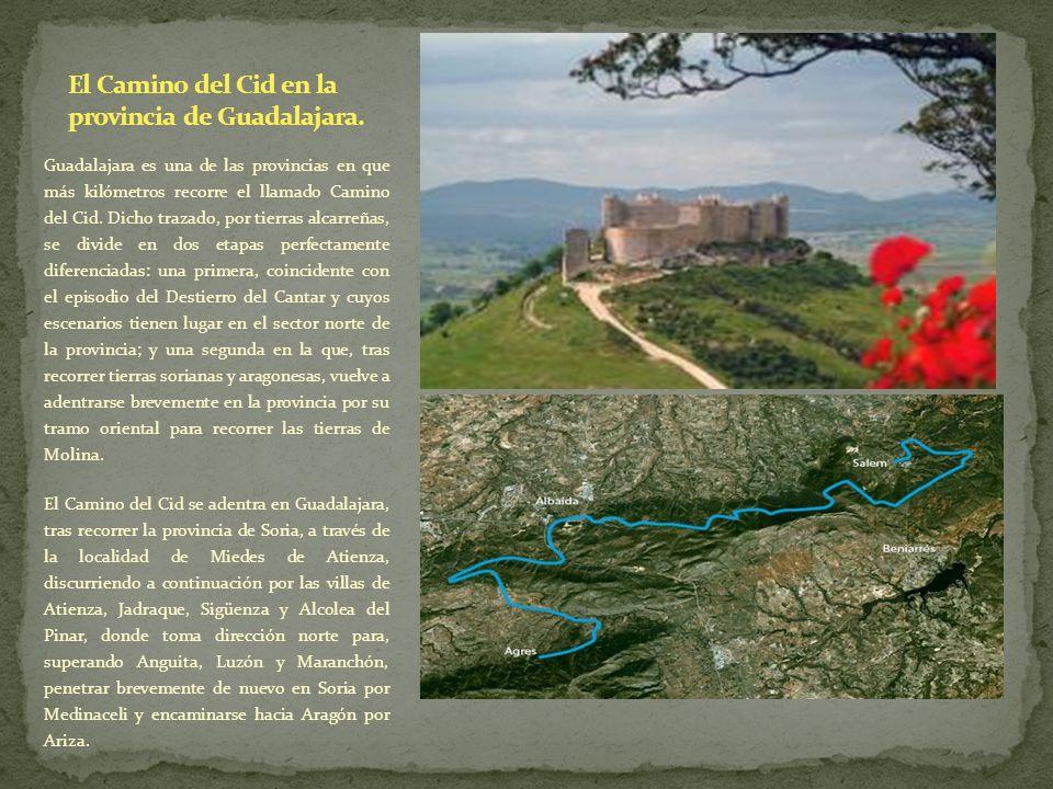 El Camino del Cid en la provincia de Guadalajara.