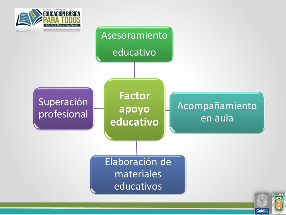 Factor apoyo educativo
