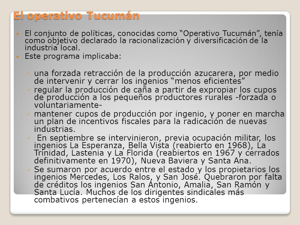 El operativo Tucumán