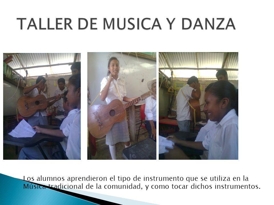 TALLER DE MUSICA Y DANZA