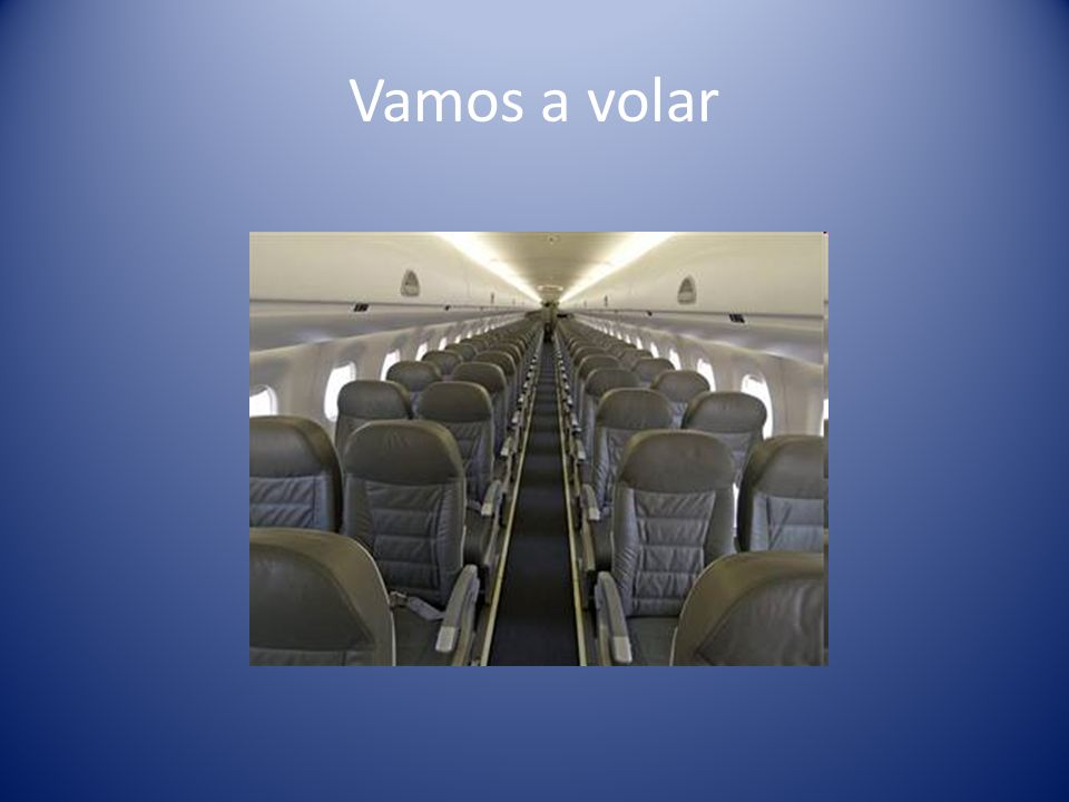 Vamos a volar