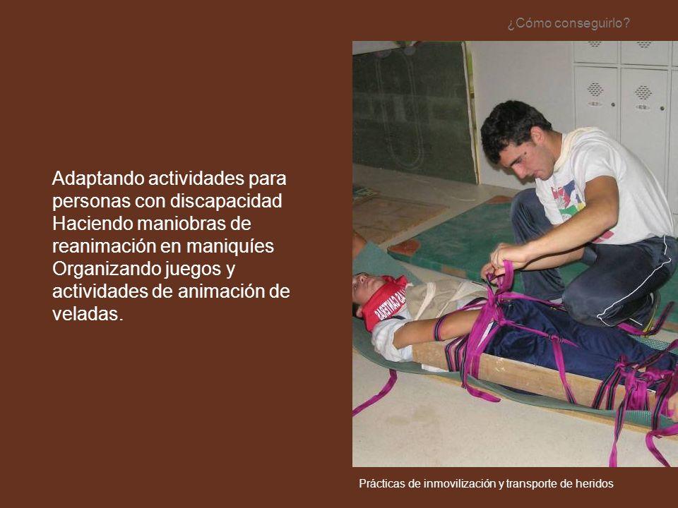 Adaptando actividades para personas con discapacidad