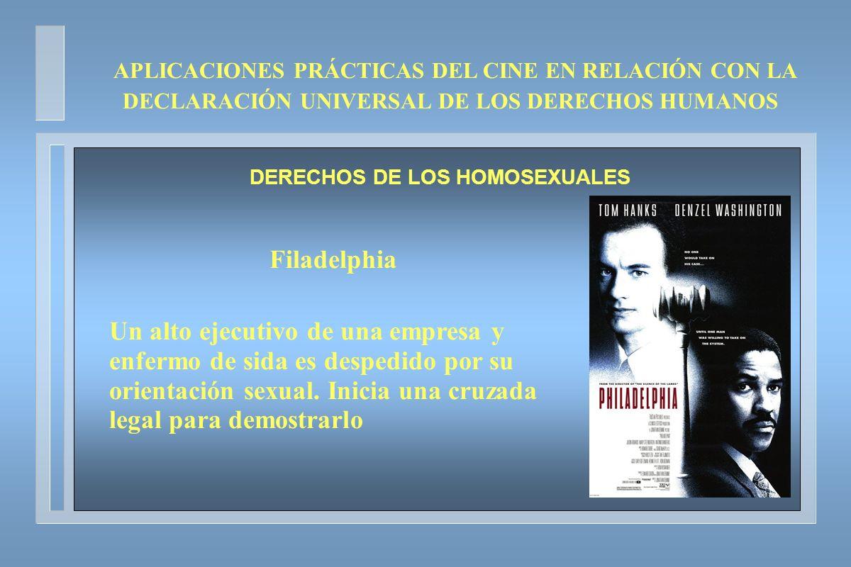 DERECHOS DE LOS HOMOSEXUALES