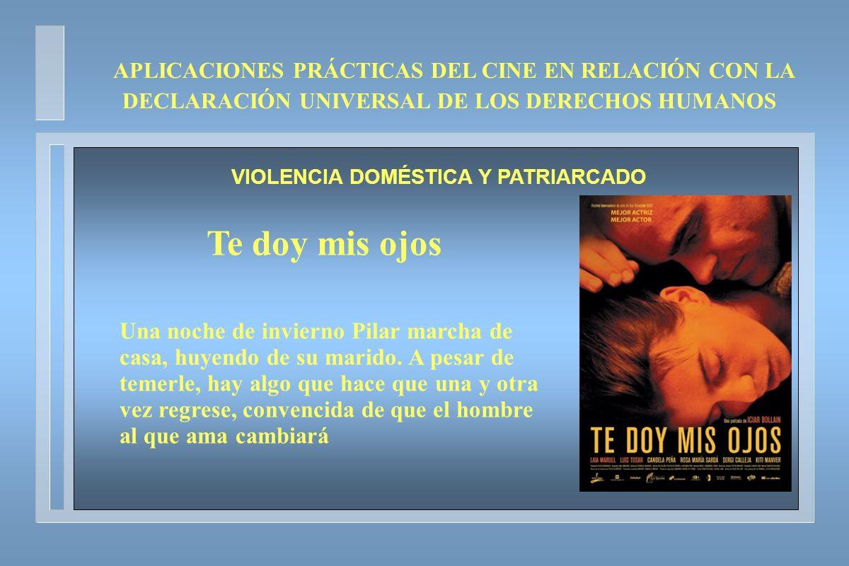 VIOLENCIA DOMÉSTICA Y PATRIARCADO