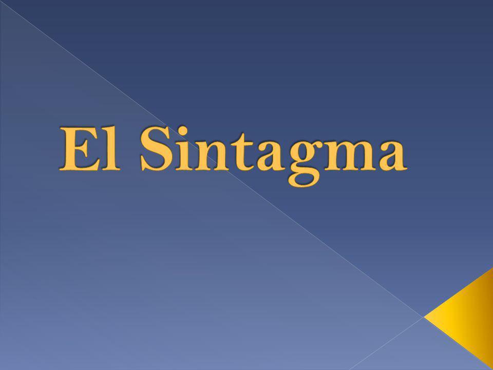 El Sintagma