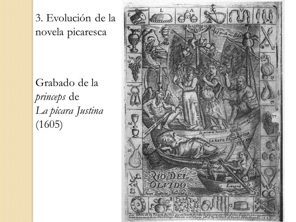 3. Evolución de la novela picaresca