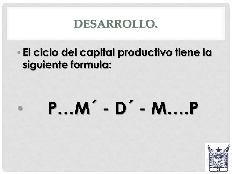 P…M´ - D´ - M….P Desarrollo.