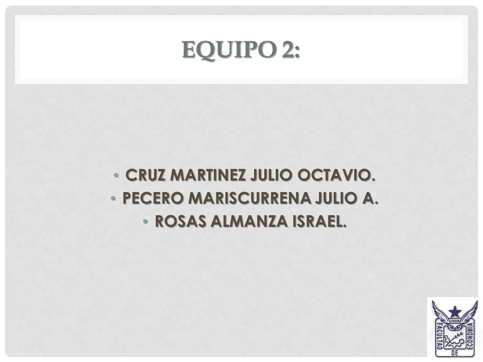CRUZ MARTINEZ JULIO OCTAVIO. PECERO MARISCURRENA JULIO A.