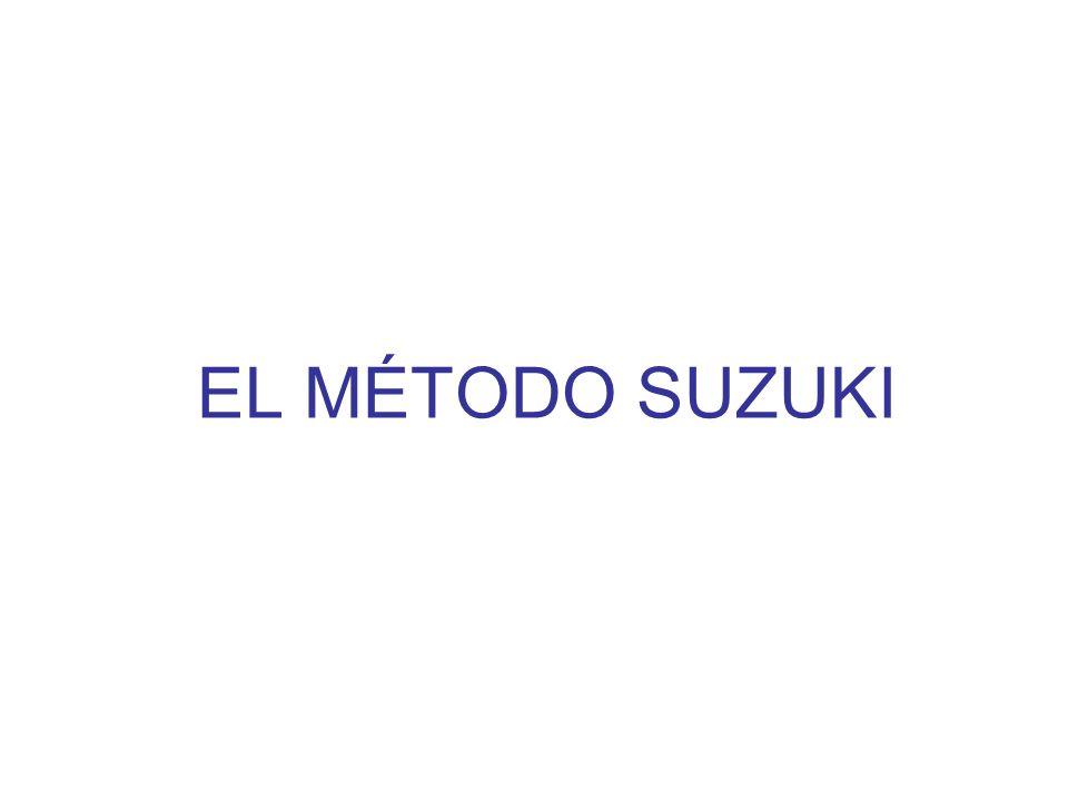 EL MÉTODO SUZUKI