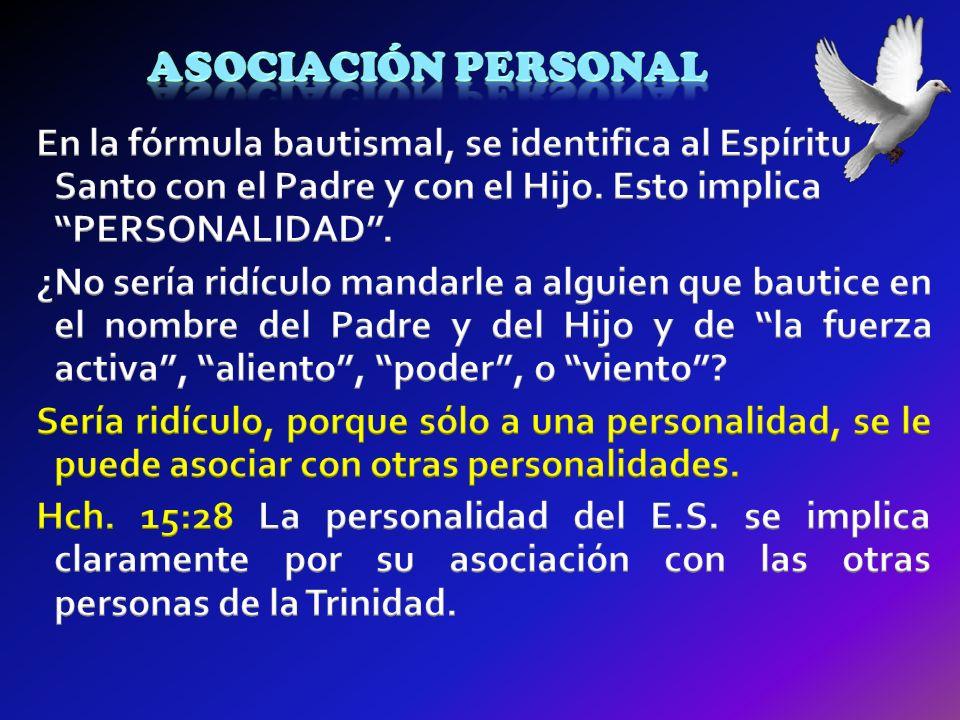 Asociación personal