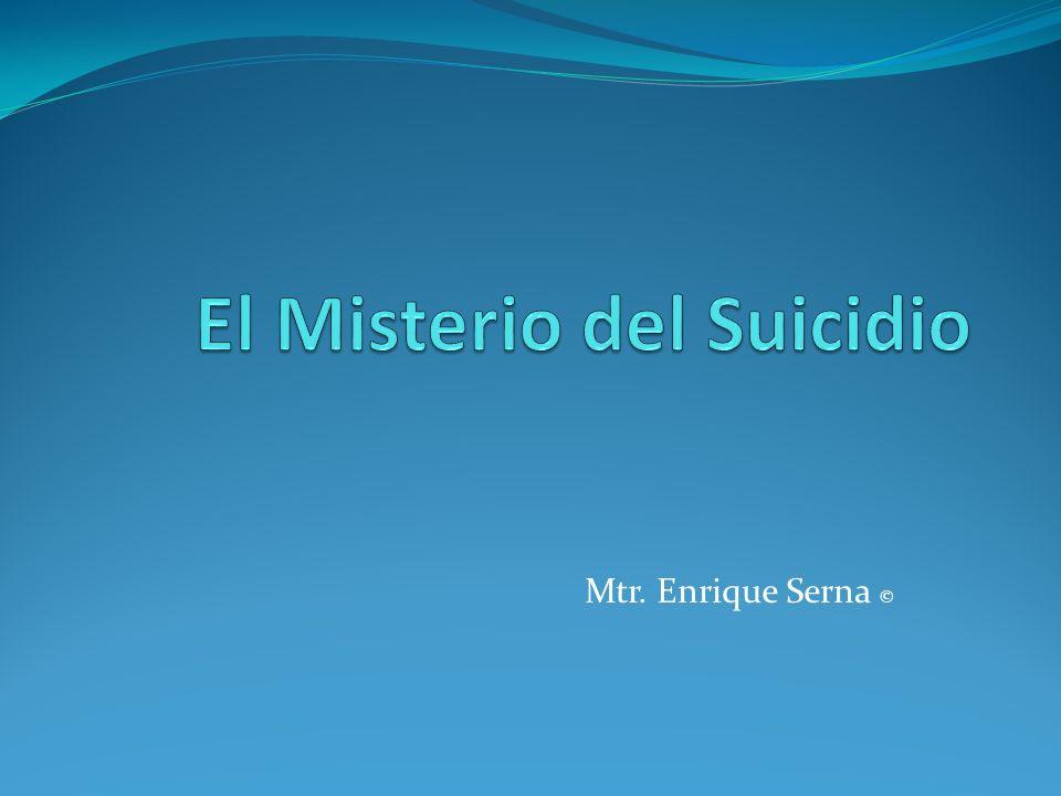 El Misterio del Suicidio