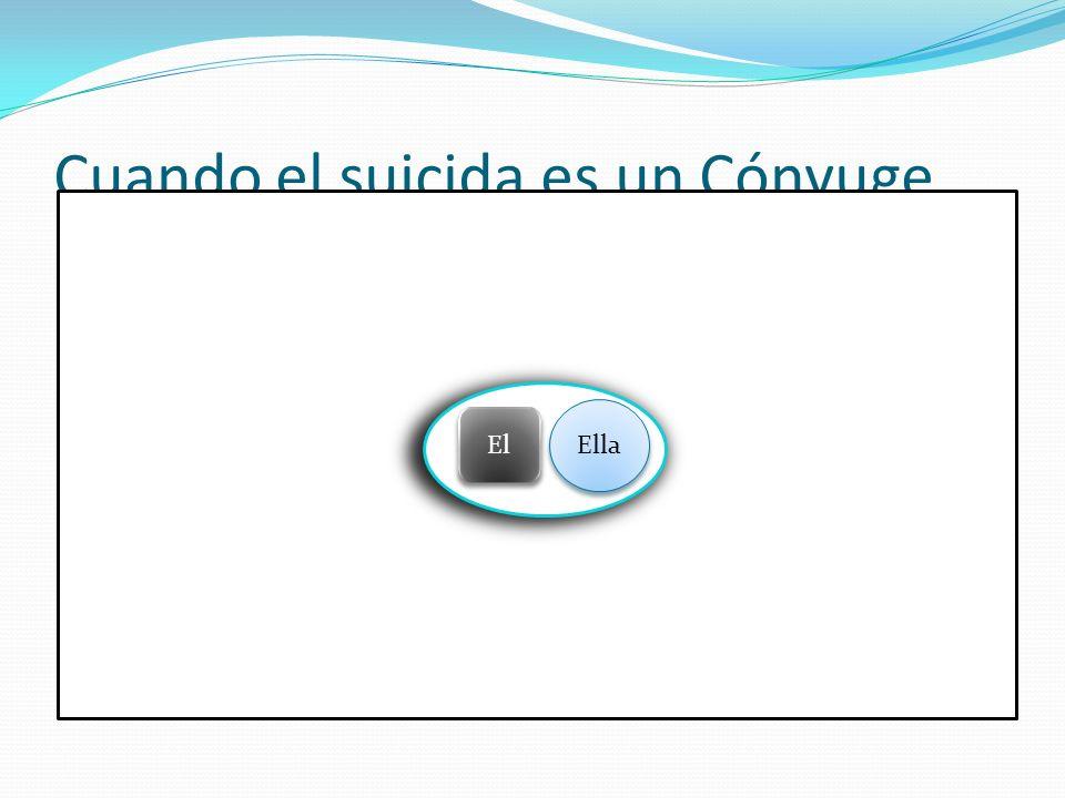 Cuando el suicida es un Cónyuge