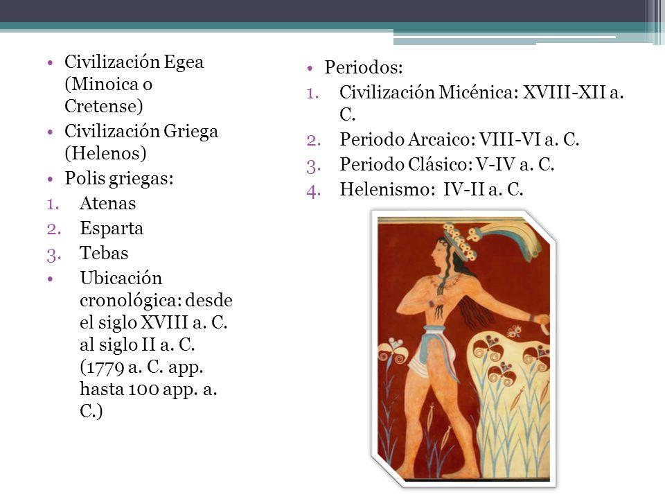 Civilización Egea (Minoica o Cretense)