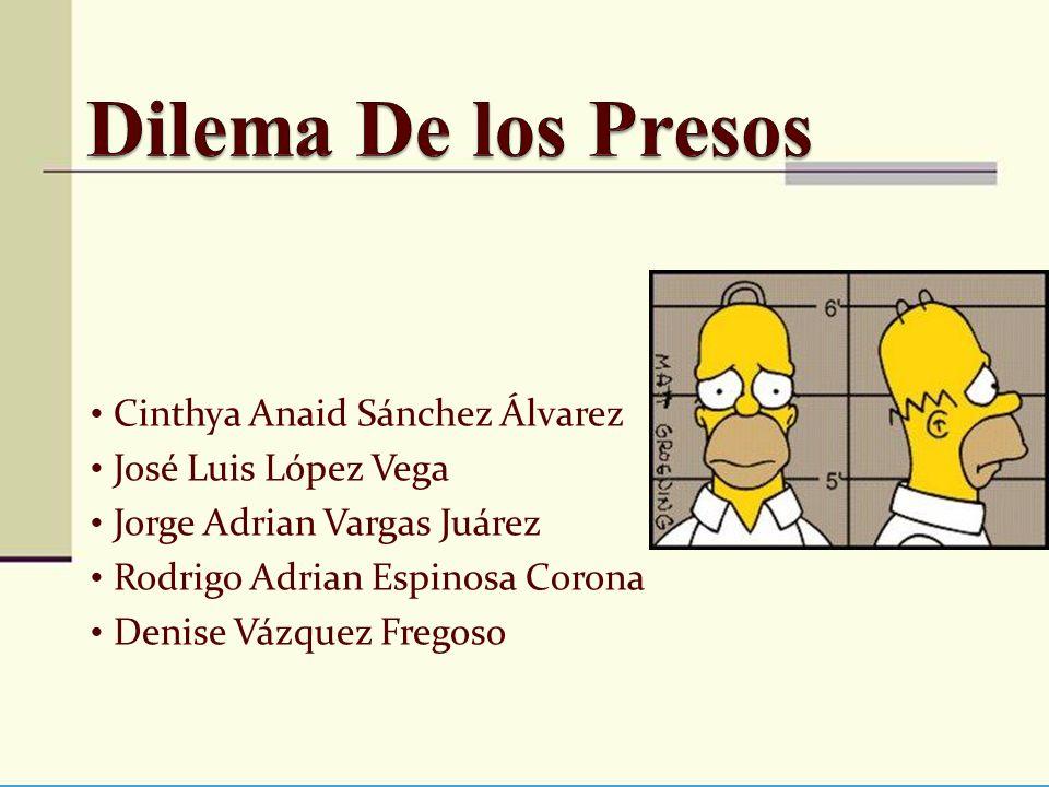Dilema De los Presos Cinthya Anaid Sánchez Álvarez