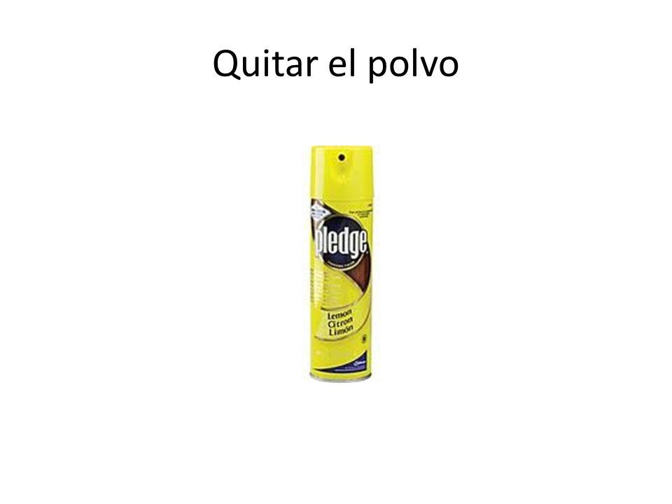 Quitar el polvo