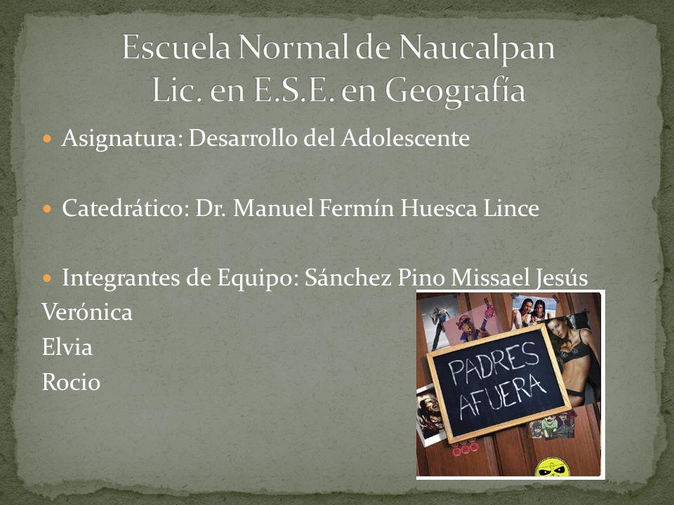 Escuela Normal de Naucalpan Lic. en E.S.E. en Geografía