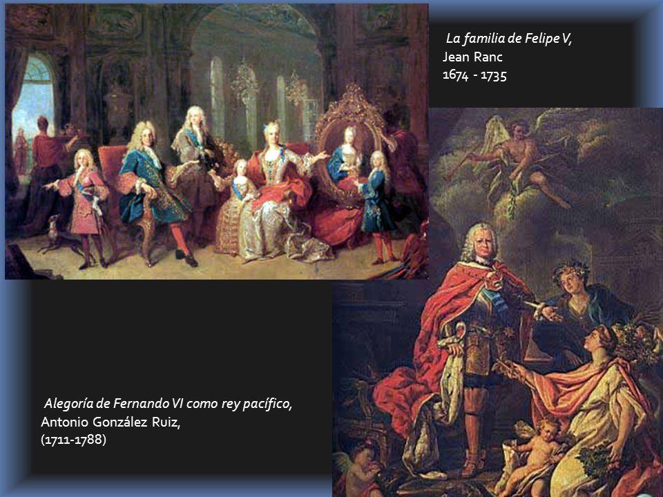 Alegoría de Fernando VI como rey pacífico,