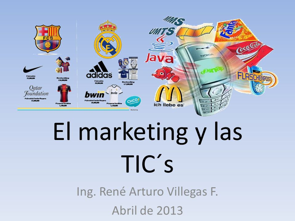 El marketing y las TIC´s