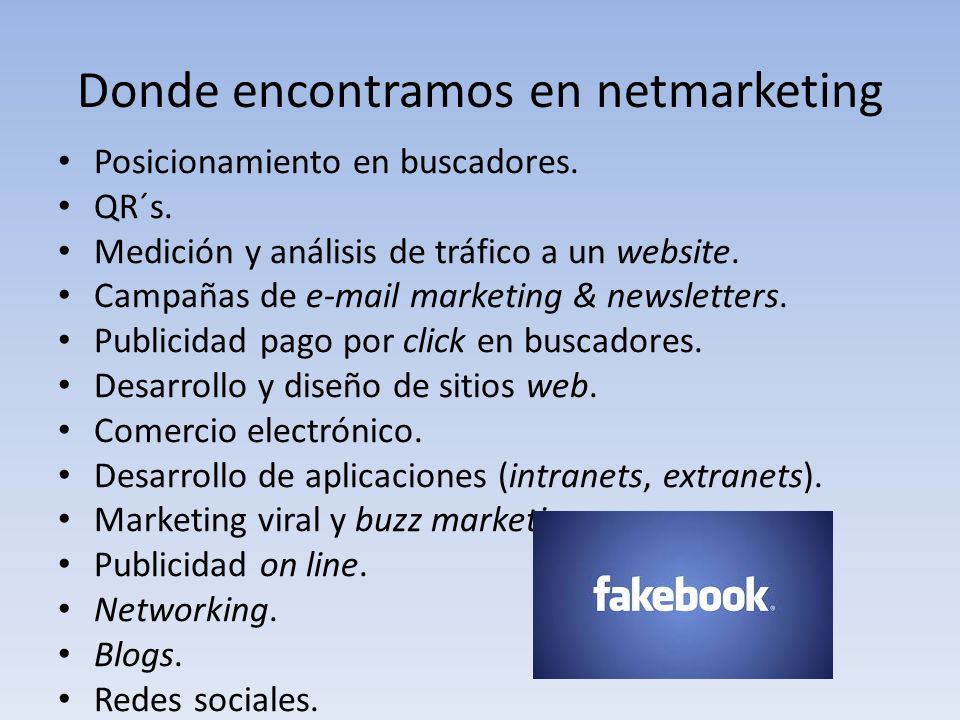 Donde encontramos en netmarketing