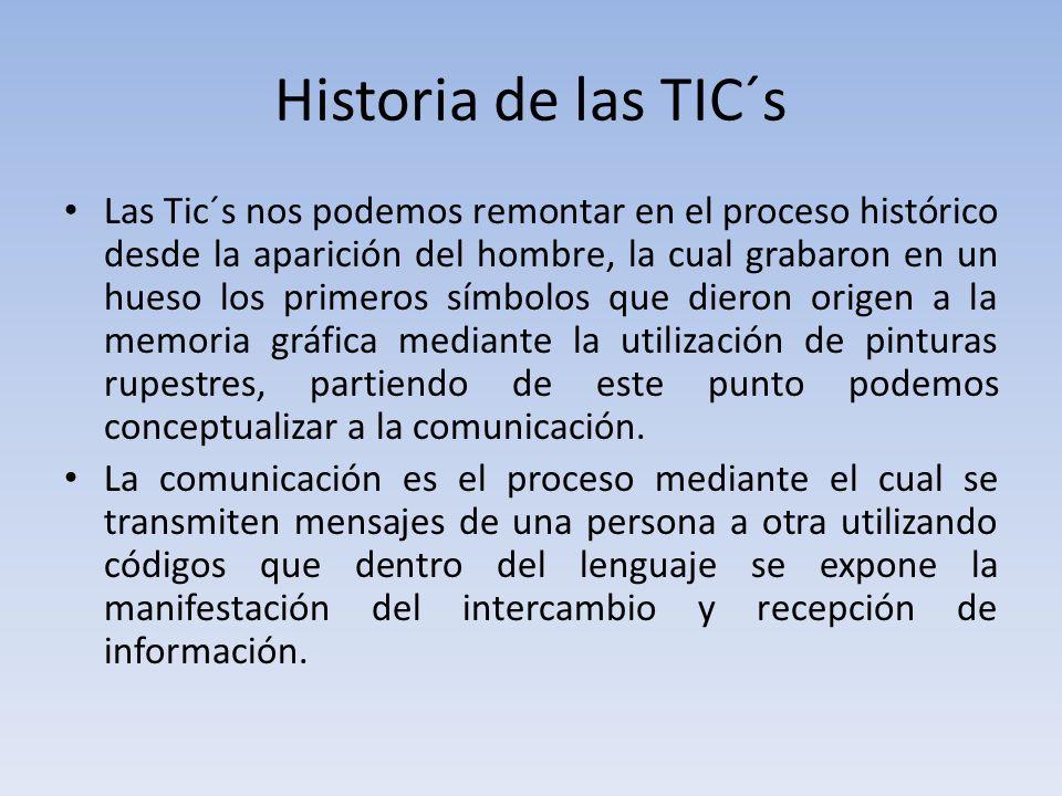 Historia de las TIC´s