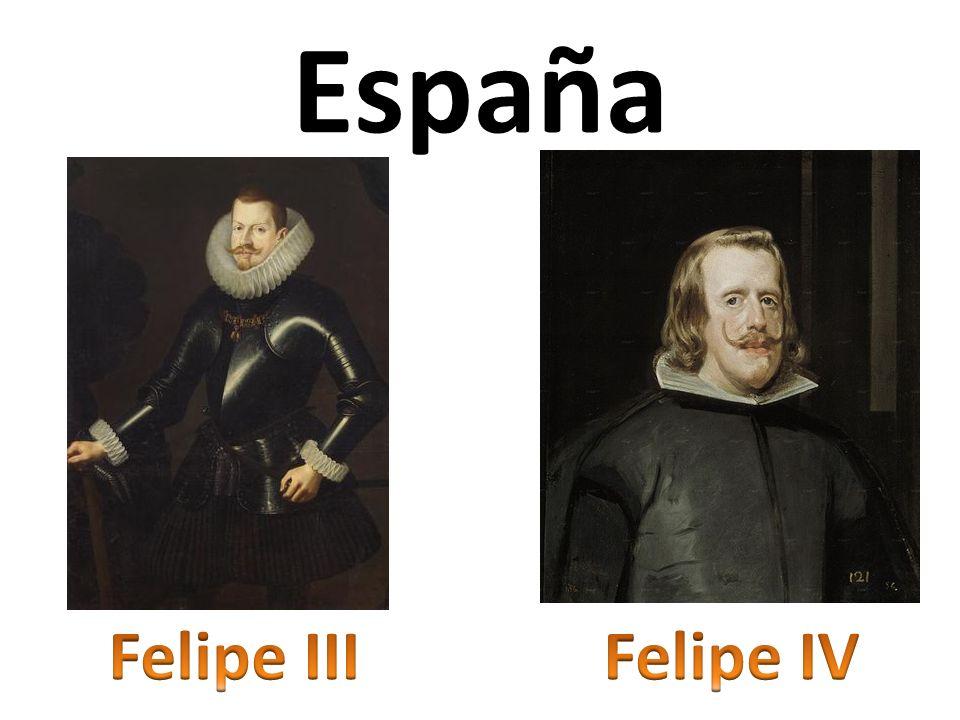 España Felipe III Felipe IV