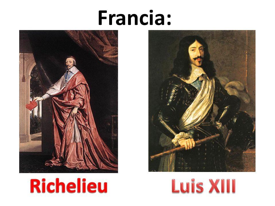 Francia: Richelieu Luis XIII