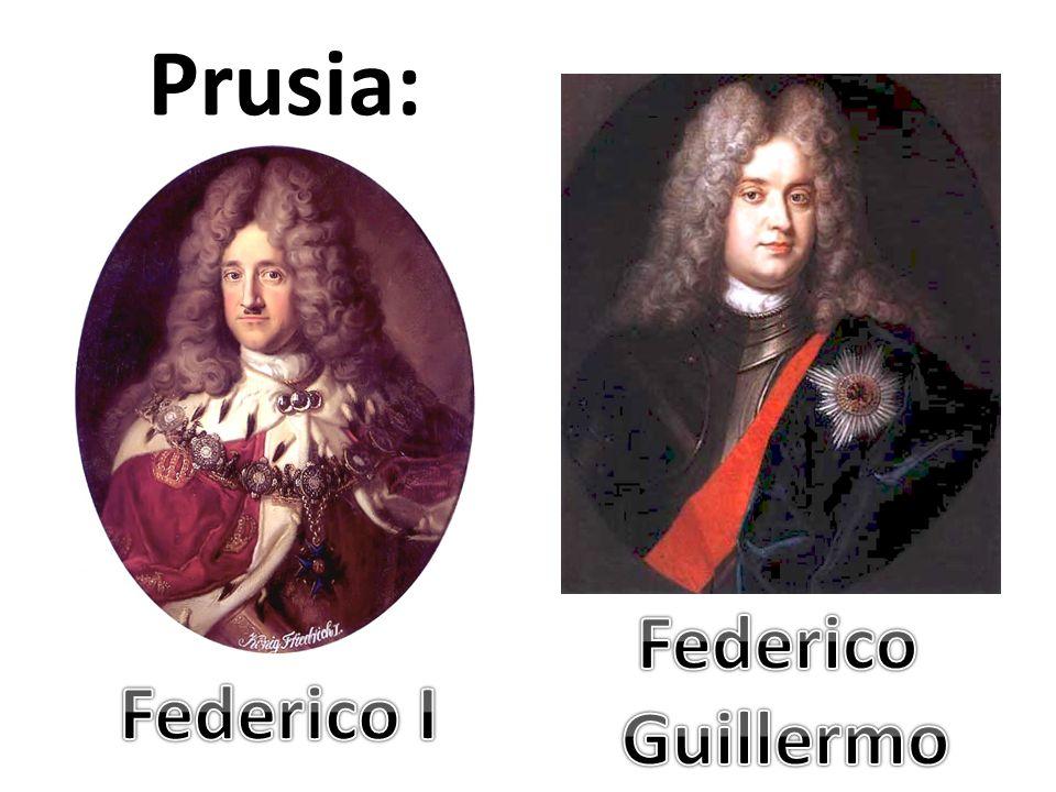 Prusia: Federico Guillermo Federico I