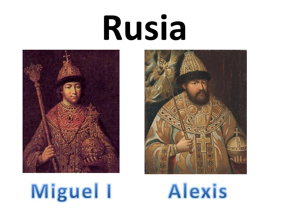 Rusia Miguel I Alexis
