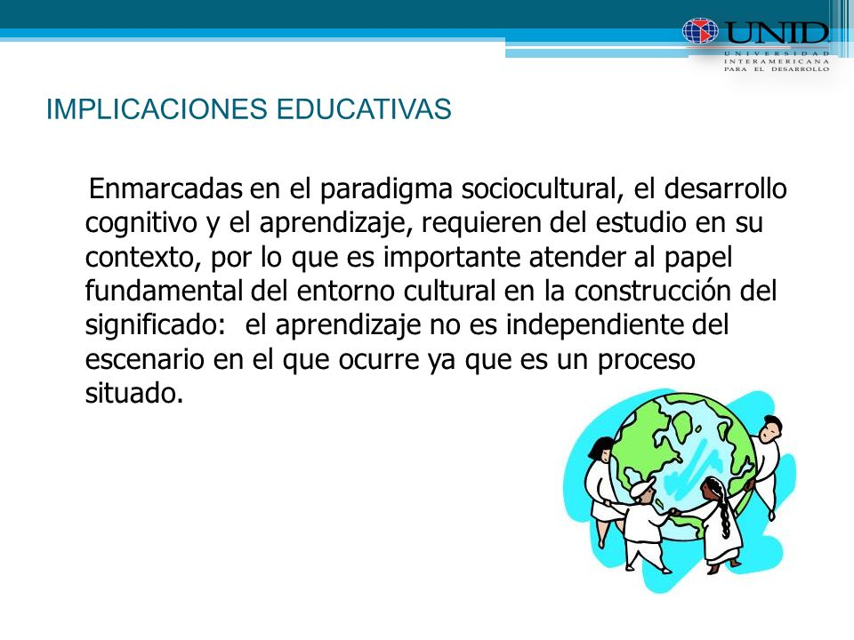 IMPLICACIONES EDUCATIVAS