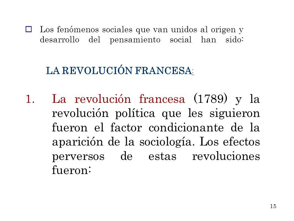 LA REVOLUCIÓN FRANCESA: