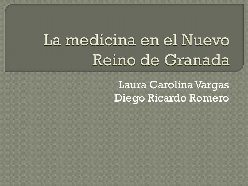 La medicina en el Nuevo Reino de Granada
