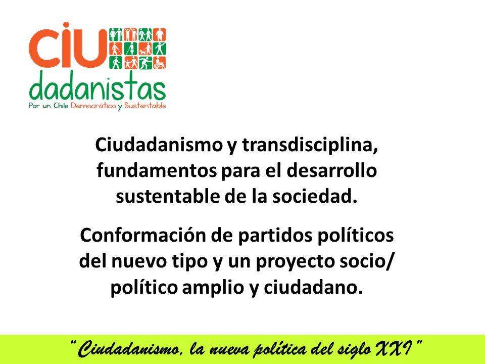 Ciudadanismo, la nueva política del siglo XXI