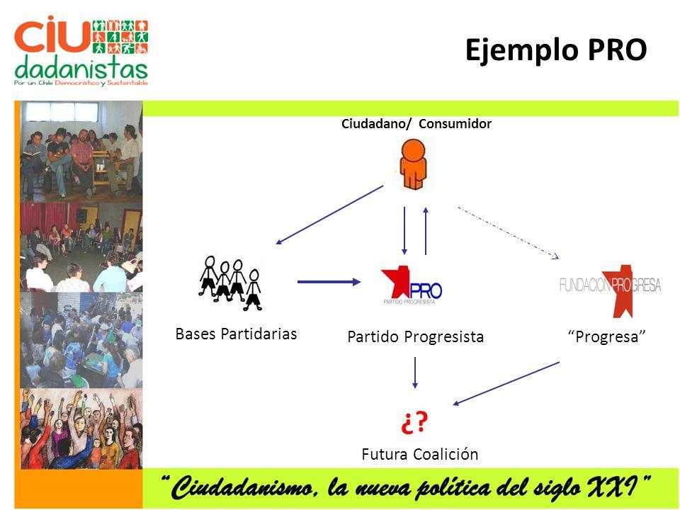 Ejemplo PRO ¿ Bases Partidarias Partido Progresista Progresa