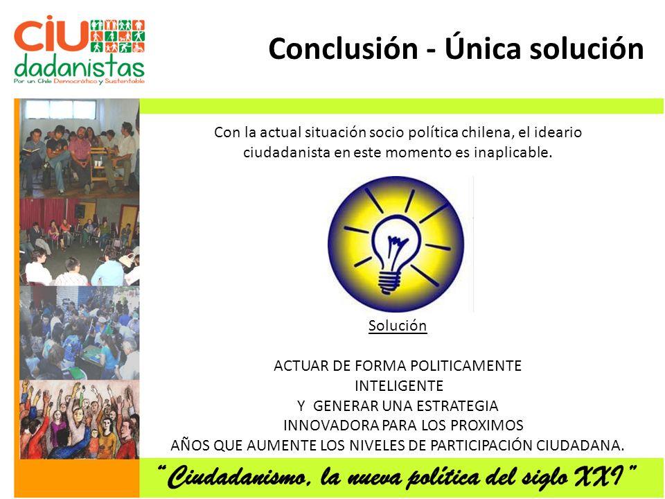 Conclusión - Única solución