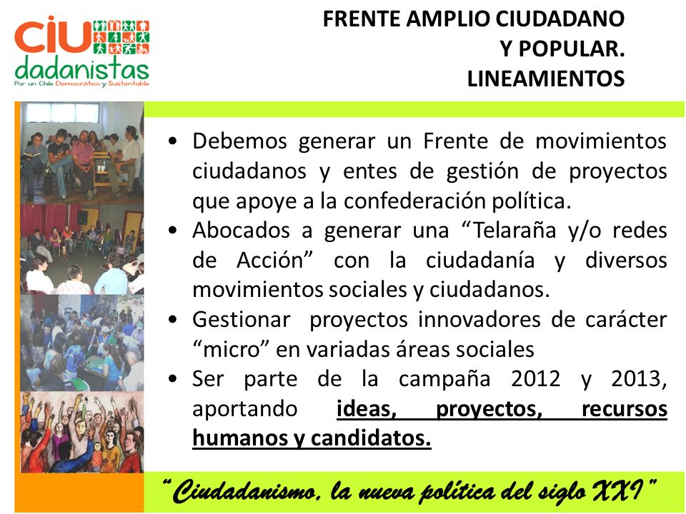 FRENTE AMPLIO CIUDADANO