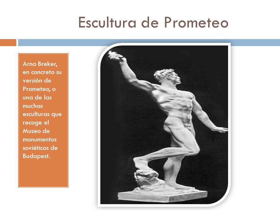Escultura de Prometeo