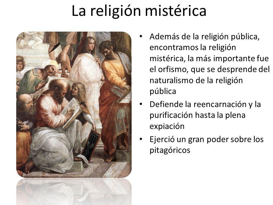 La religión mistérica