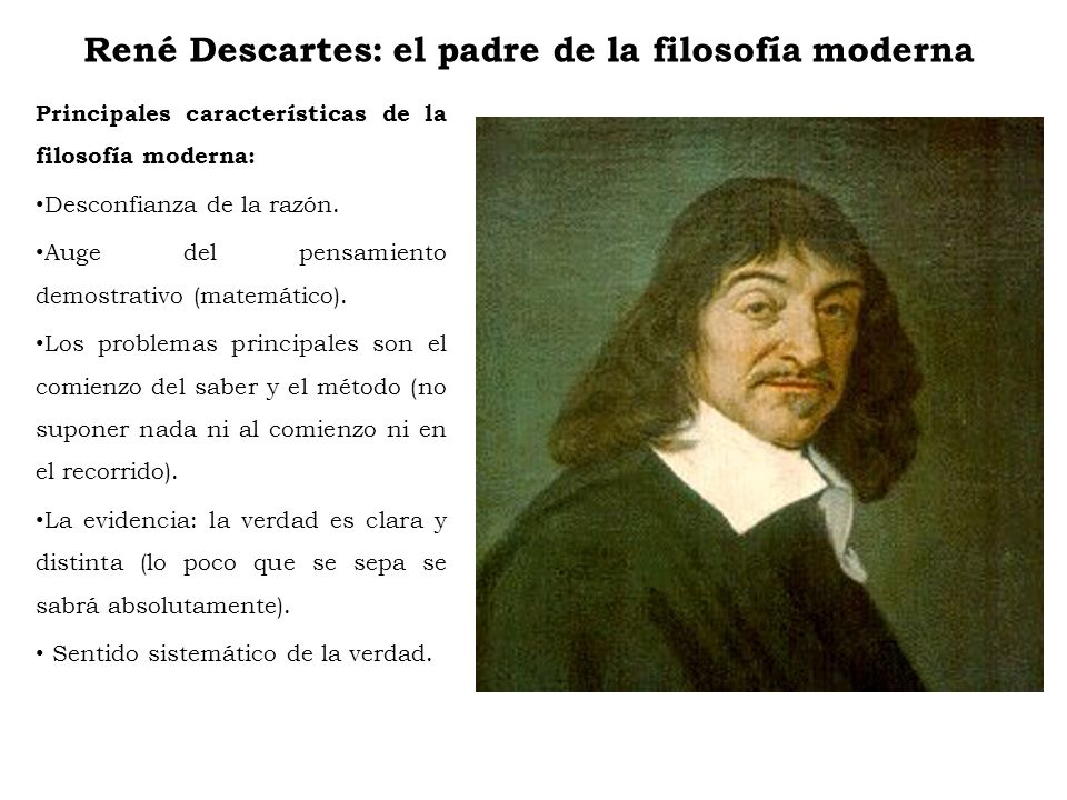 René Descartes: el padre de la filosofía moderna