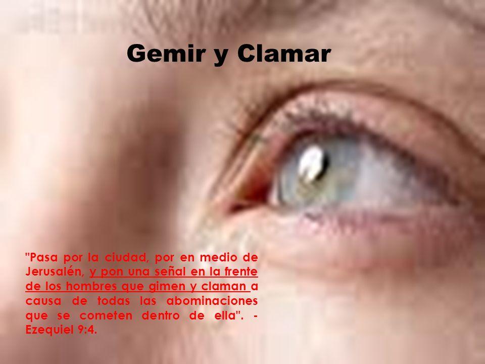 Gemir y Clamar Gemir y Clamar