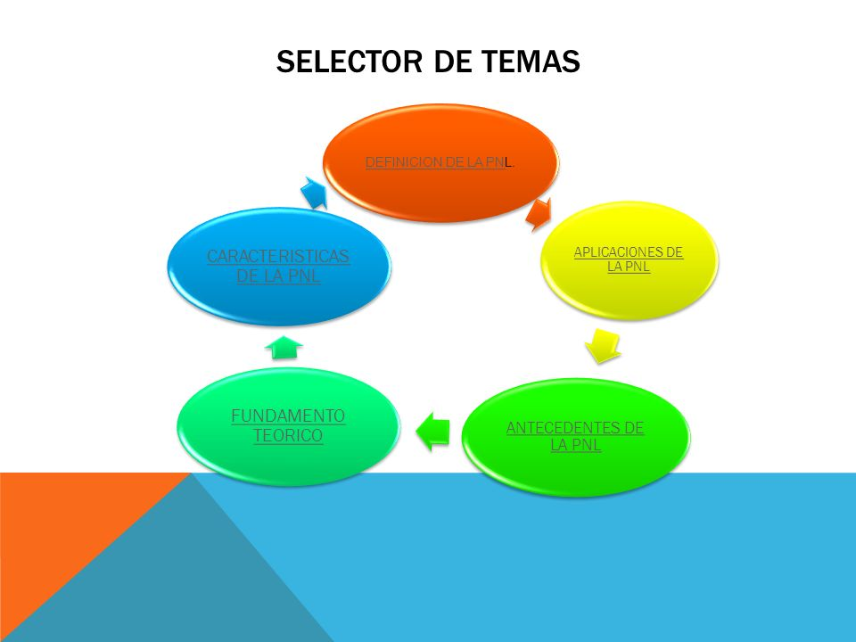 CARACTERISTICAS DE LA PNL